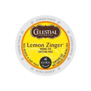 K-CUP CELESTIAL SEASONINGS LEMON ZINGER TEA 24's