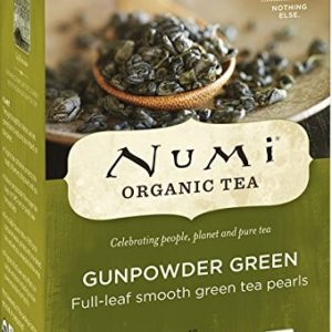 NUMI ORGANIC TEA BAGS GUNPOWDER GREEN 18's