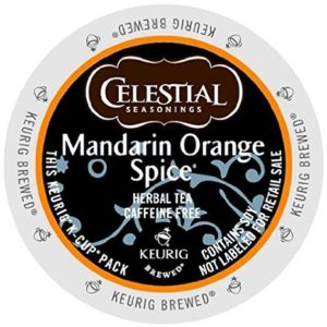 K-CUP CELESTIAL SEASONINGS MANDARIN ORANGE SPICE TEA 24's