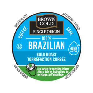K-CUP BROWN GOLD 100% BRAZILIAN 24's