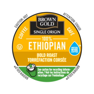 K-CUP BROWN GOLD 100% ETHIOPIAN 24's