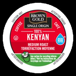 K-CUP BROWN GOLD 100% KENYAN 24's