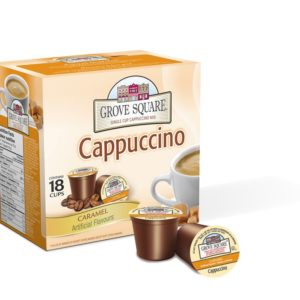 K-CUP GROVE SQUARE CARAMEL CAPPUCCINO 24's