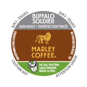 K-CUP MARLEY COFFEE BUFFALO SOLDIER 24's