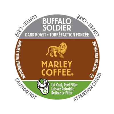 K-CUP MARLEY COFFEE BUFFALO SOLDIER 24's