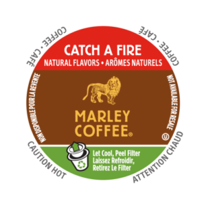 K-CUP MARLEY COFFEE GET CATCH A FIRE 24's