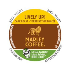 K-CUP MARLEY COFFEE LIVELY UP ESPRESSO 24's