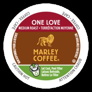 K-CUP MARLEY COFFEE ONE LOVE 24's