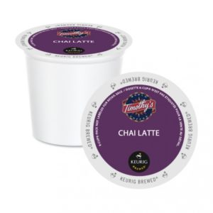 K-CUP TIMOTHY'S CHAI LATTE 24's