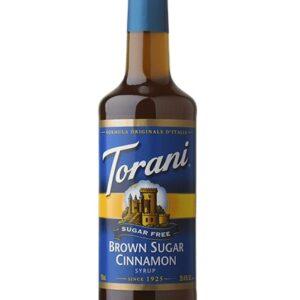 Torani Sugar-Free Brown Sugar Cinnamon Syrup
