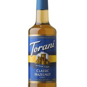 Torani Classic Sugar-Free Hazelnut Syrup