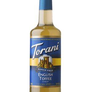 Torani English Toffee Syrup