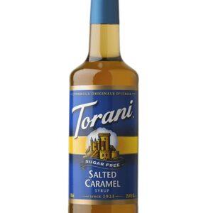 Torani Sugar-Free Salted Caramel Syrup