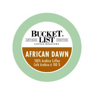 Bucket List African Dawn K-Cup