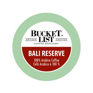 Bucket List Bali Reserve K-Cup
