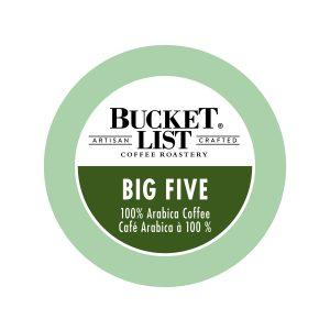 Bucket List Big Five K-Cup
