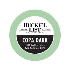 Bucket List Copa Dark K-Cup