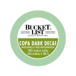Bucket List Copa Dark Decaf K-Cup